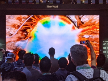 TV Wall CES Expo 2020
