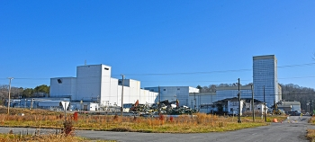 The Centrifuge Complex includes some of the largest remaining structures at the East Tennessee Technology Park. This year, crews will complete all demolitions and major cleanup at the site.