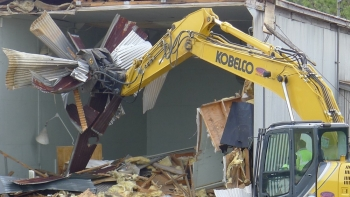 SRS Successfully demolishes legacy facility