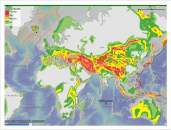 Seismic Map Image Photo