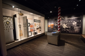 A view inside the K-25 History Center