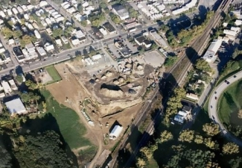 Contaminated soils readied for removal from the Colonie site