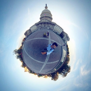 A view of Washington, D.C.