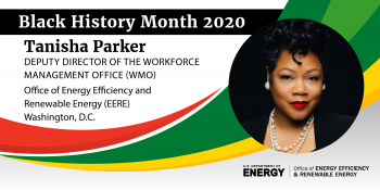 tanisha parker black history month