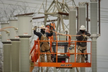 Electrical contractors from the Beltline Company have worked on a number of projects as EM's Paducah Site continues to optimize utilities for the deactivation of the gaseous diffusion plant there.