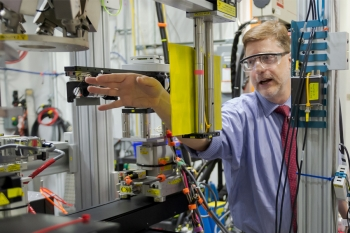 Stephen Streiffer is the director of the Advanced Photon Source at Argonne National Laboratory.