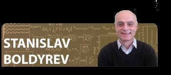 Stanislav Boldyrev: Then and Now / 2010 Early Career Award Winner