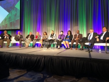 Photo of DOE OSDBU Director Charlie Smith at the 2020 National 8(a) Small Business Conference in New Orleans, LA