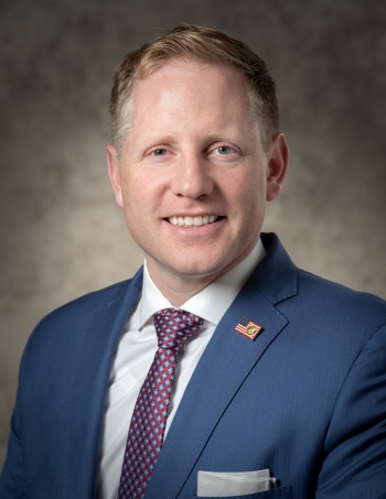 Official photo of Principal Deputy Assistant Secretary Plankey