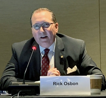 Rick Osbon, mayor of Aiken, South Carolina, touted the community's long and strong support for the Savannah River Site.