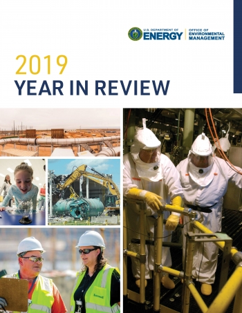 2019 Year in Review Report Cover
