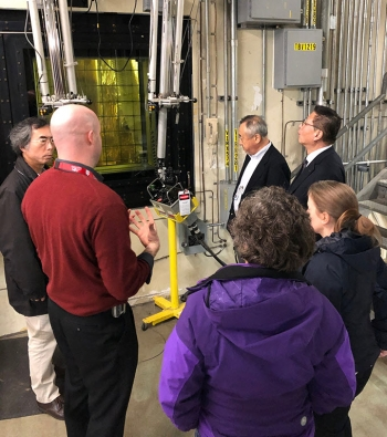 Visitors headed to the Waste Management Symposia in Phoenix were given a special tour of the Savannah River Site on March 5.