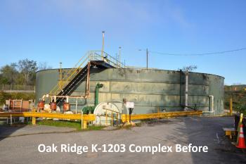 Oak Ridge K-1203 Complex Before