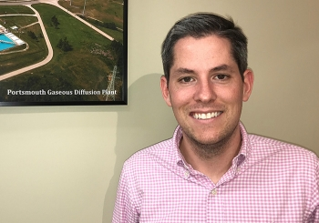 Portsmouth/Paducah Project Office Contracting Officer Tyler Hicks.