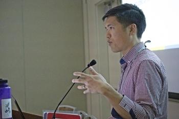 Amchitka Site Manager Jason Nguyen