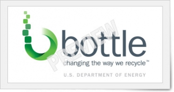 Logo for the BOTTLE (Bio-Optimized Technologies for keeping Thermoplastics from the Landfill and the Environment) consortium