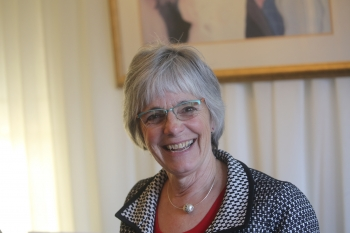 Dr. Susan Seestrom of Sandia National Laboratories in 2019