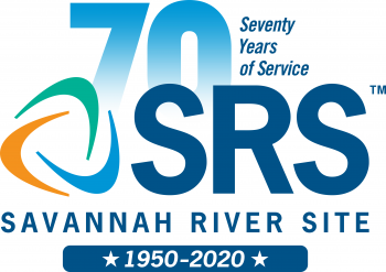 SRS 70 Years of Service logo
