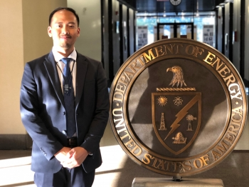 Tony Santo Domingo, an NNSA Graduate Fellow, will complete his fellowship at the Nevada Field Office and has accepted a permanent position there.