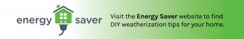 Banner showcasing Energy Saver graphic.