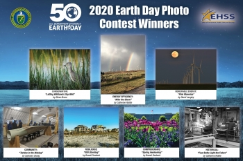 A Poster of the 2020 Earth Day Photo Contest Winners