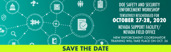 2020 Safety and Security Workshop - Save the Date
