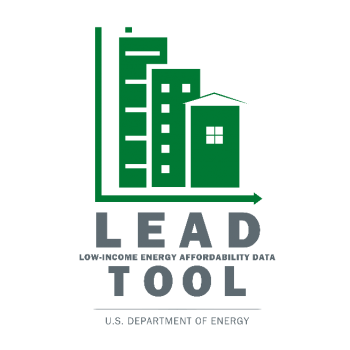 A logo for the Low-Income Energy Affordability Data (LEAD) Tool