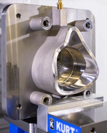 a close up of a CNC machine