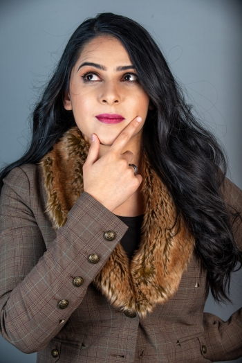 Sakshi Mishra works on applying AI to clean energy at NREL.