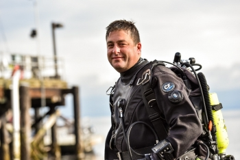 John Vavrinec is a marine ecologist at the Pacific Northwest National Laboratory (PNNL)'s Marine Sciences Laboratory.