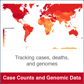 COVID-19 Case tracking map