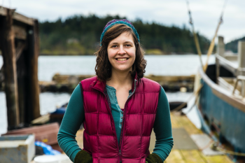 Molly Grear is an ocean engineer and marine biologist working in the Coastal Sciences Division at Pacific Northwest National Laboratory