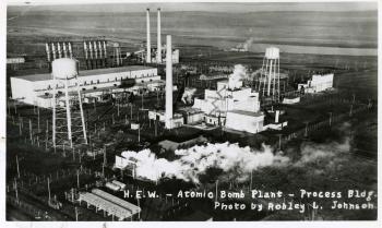 B Reactor Atomic Bomb Plant