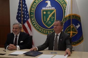 Jordan Cove signing ceremony photo