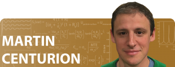 Martin Centurion: Then and Now / 2010 Early Career Award Winner