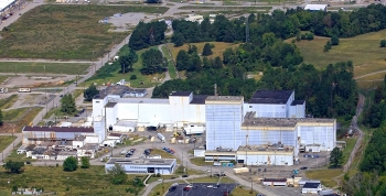 The Centrifuge Complex was one of the most recognizable structures in the East Tennessee Technology Park's skyline.