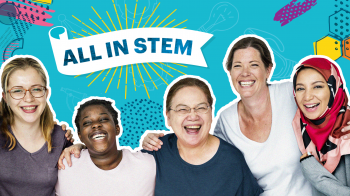 All in STEM is a website that showcases the programs geared towards reaching those typically underrepresented in STEM careers.