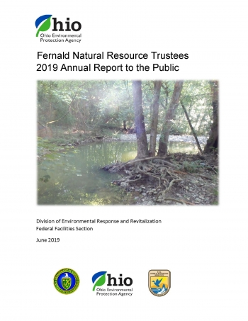 The 2019 Fernald Natural Resource Trustees report details successes of the extensive and ongoing Paddys Run Conservation Project. (Image courtesy of Ohio EPA.)