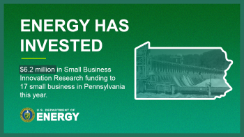 Pennsylvania small businesses have received $6.2 million in SBIR grants in 2020.