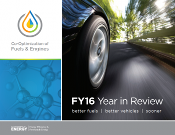 Cover of FY16 Co-Optima Year in Review Report.