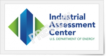 Preview of the logo for the Industrial Assessment Center, U.S. Department of Energy