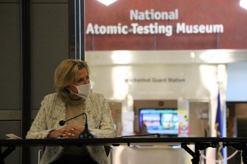 NNSA Administrator speaks at the National Atomic Testing Museum in Las Vegas prior to visiting the Nevada National Security Site.