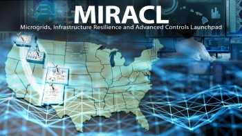 To help advance cybersecurity for distributed wind power, an INL team is collaborating with researchers at three other National Laboratories and industry through the MIRACL project.