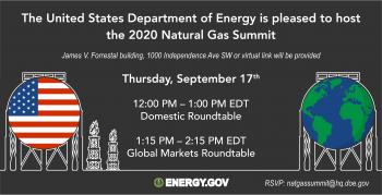 Natural Gas Summit information