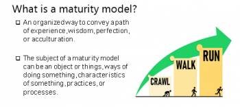 maturity model infographic