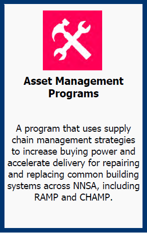 NNSA's Asset Management Programs