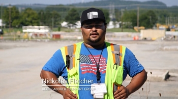 Nick Fletcher is a newer addition to Oak Ridge. He began working there two years ago after completing an apprenticeship training program, and went on to support cleanup efforts at the East Tennessee Technology Park.