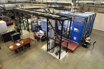 A 25 kW high-temperature electrolysis (HTE) flexible test facility at Idaho National Lab