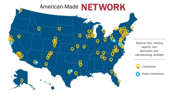 American-Made Challenges Connector Map