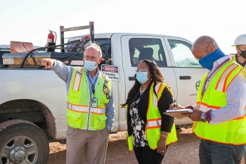 EM Field Operations Leader Tours Waste Isolation Pilot Plant